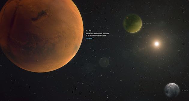 Google и Bungie создали интерактивный мир игры Destiny с использованием Str ...