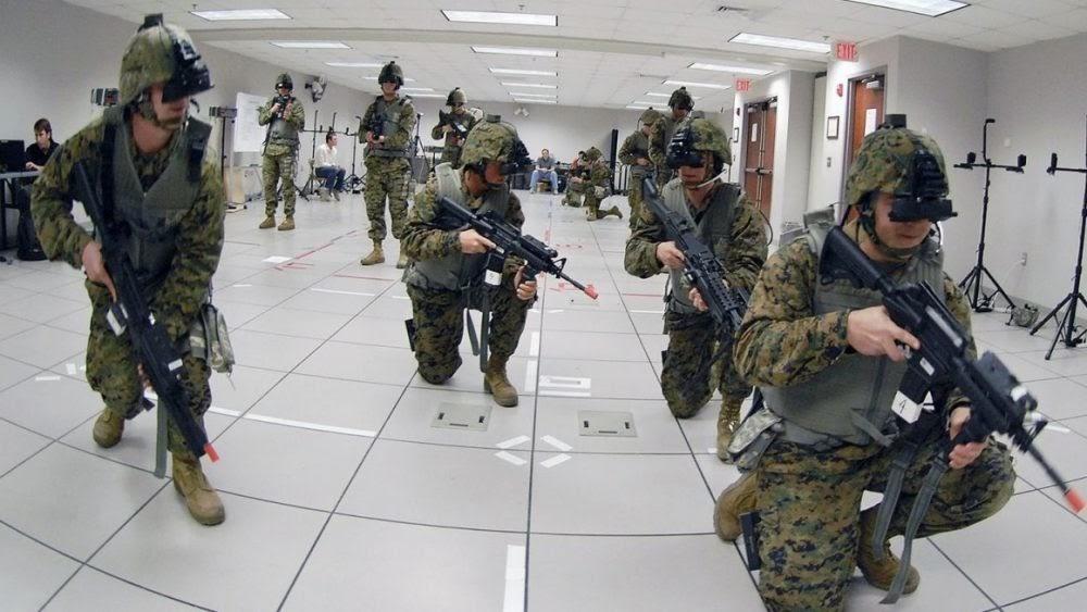 Для чего военные используют технологии ARVR