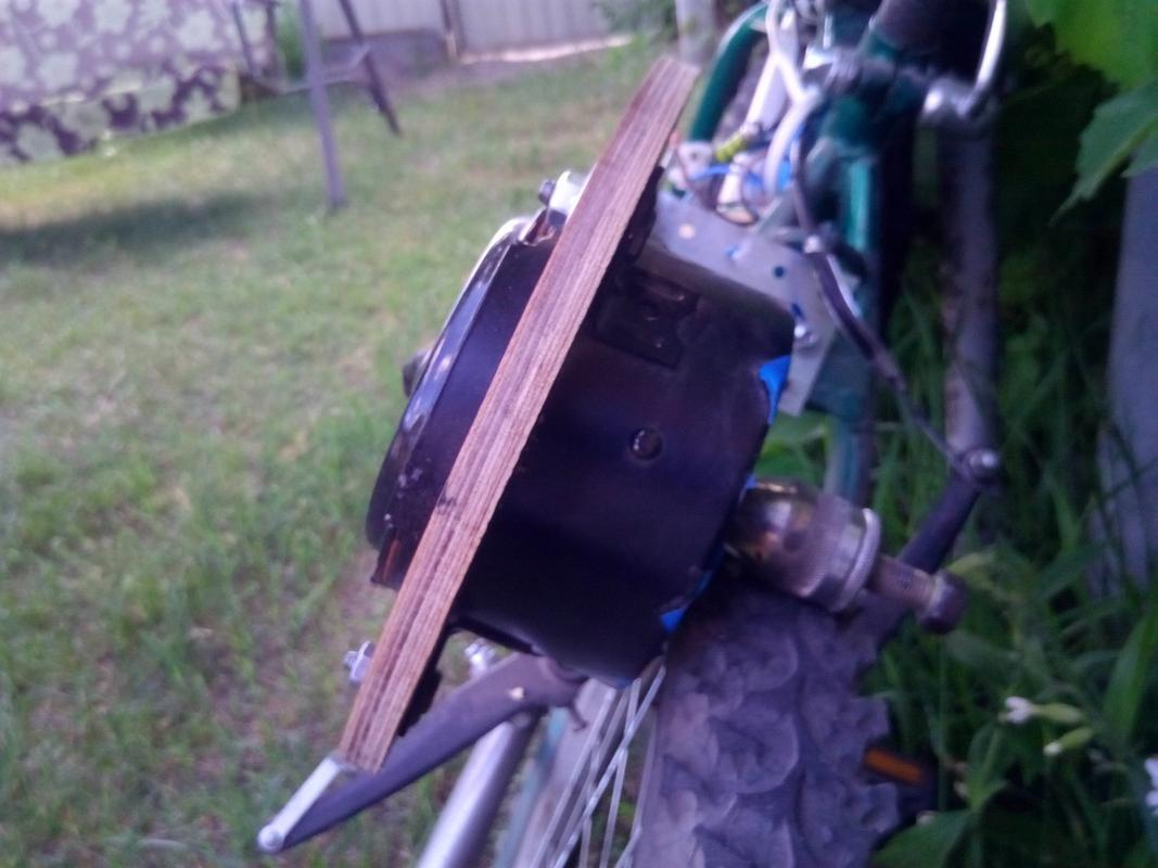 Вот, что значит прямой привод, а не эти Ваши, мотор-колеса!