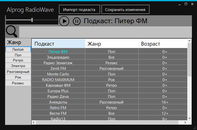 Alprog.RadioWave