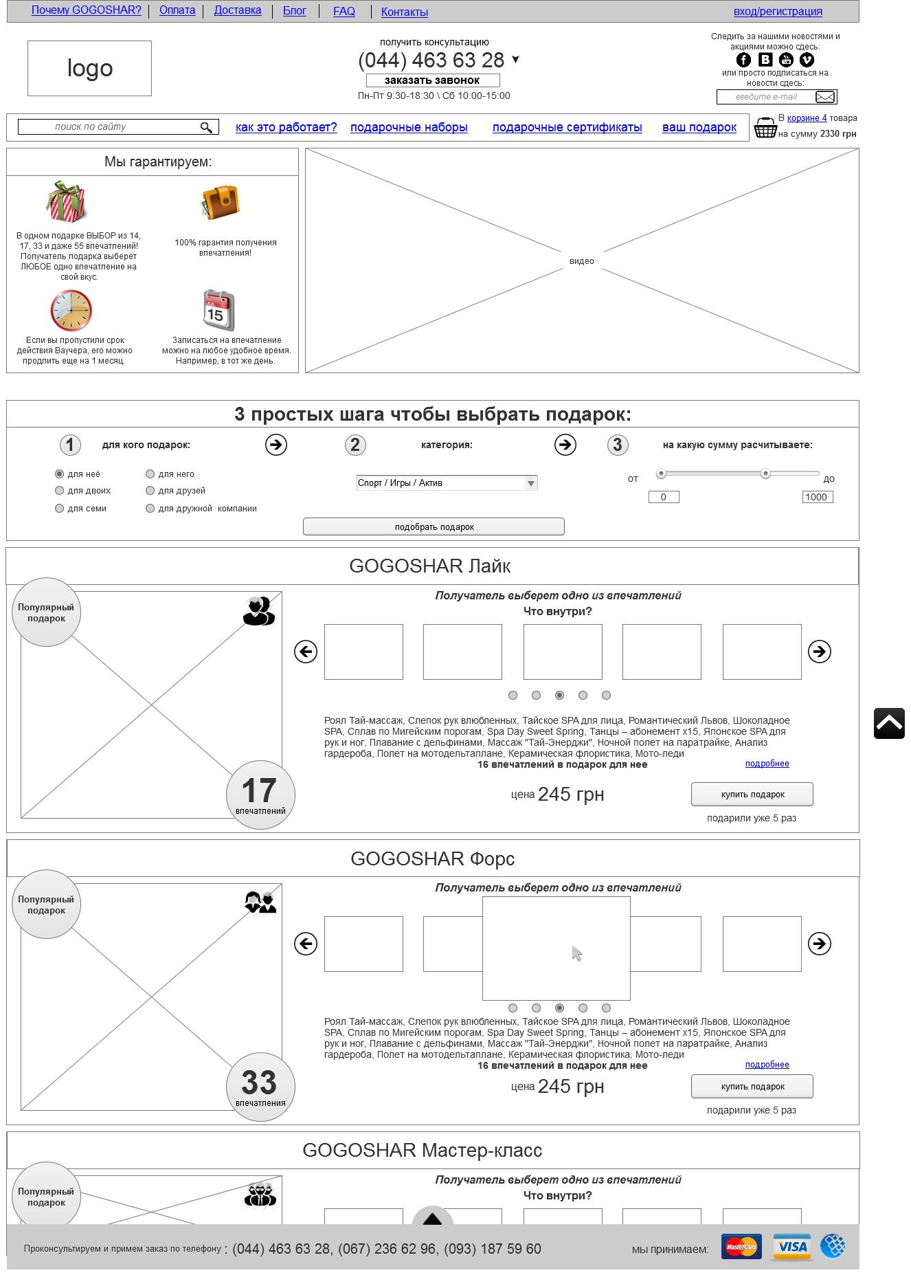схема работы покупки через интернет