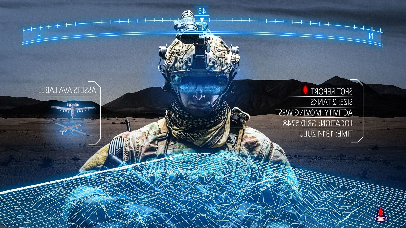 Виртуальный арсенал. Как AR/VR используется в армиях США и России