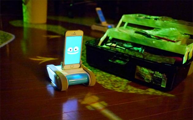 RomoCart превратит твою комнату в видеоигру (видео)