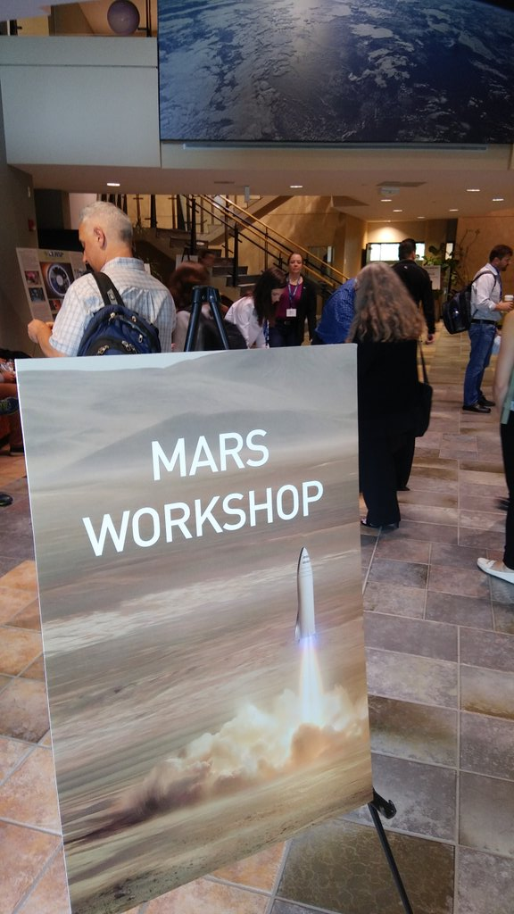 SpaceX conducted the first Mars Workshop