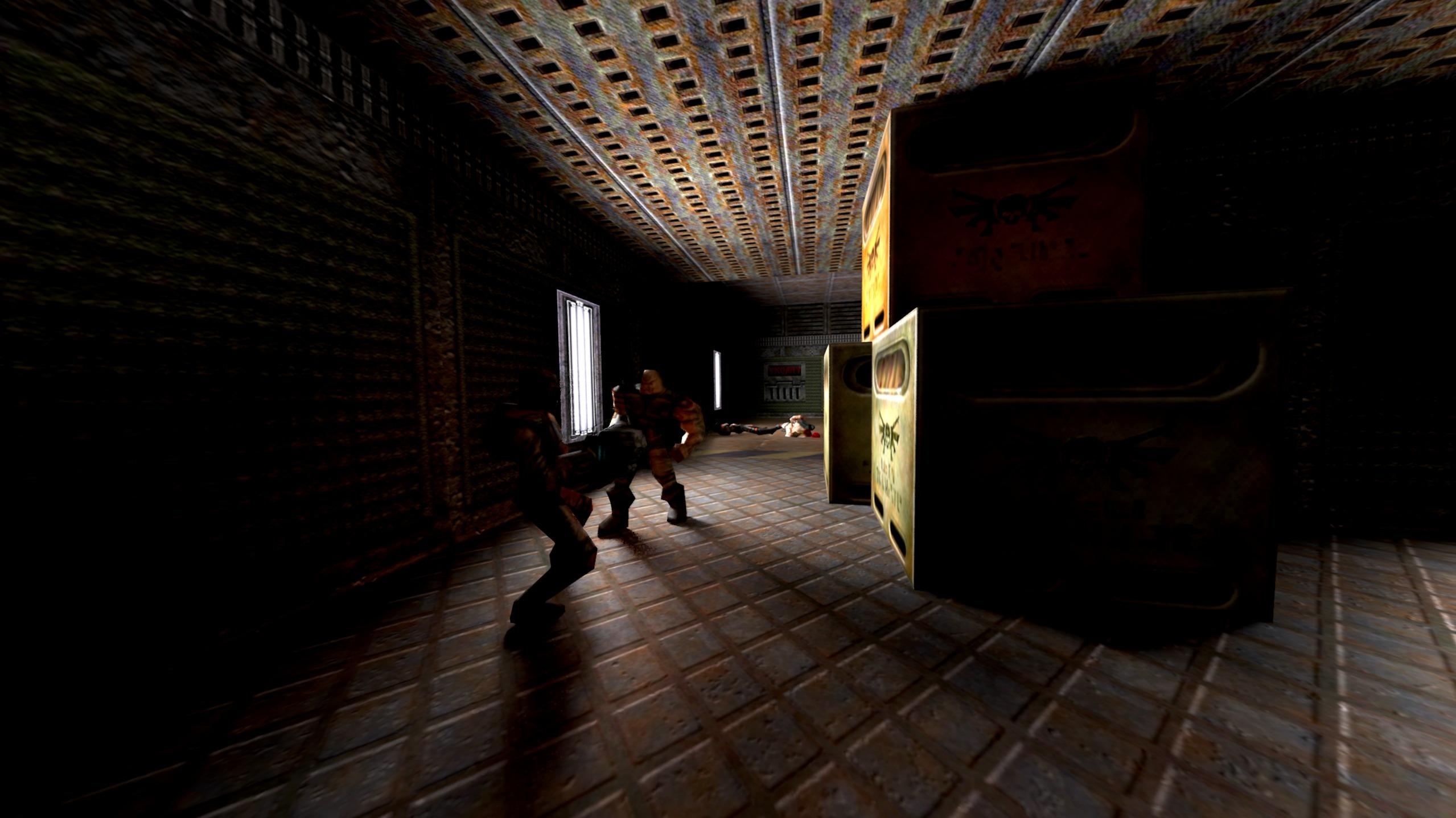 Q2VKPT: Completely rewritten Quake II with realistic lighting
