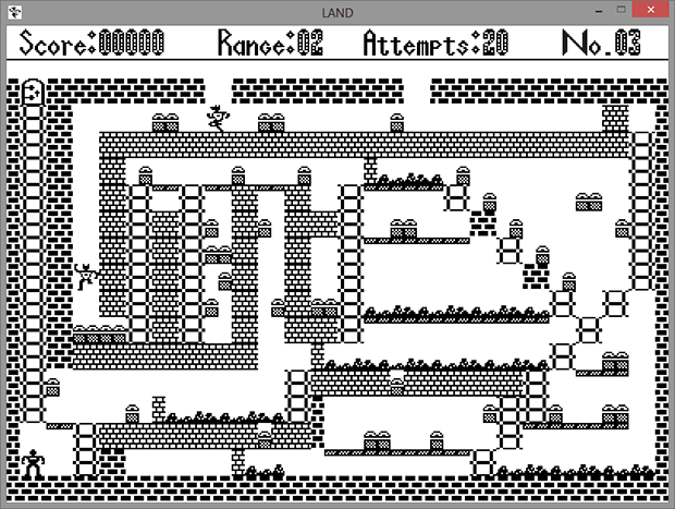 Игра «LAND» для ДВК-3. Реинкарнация под Windows