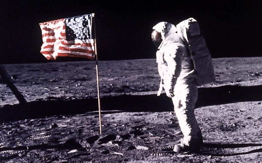 Высадке человека на Луне исполнилось 45 лет