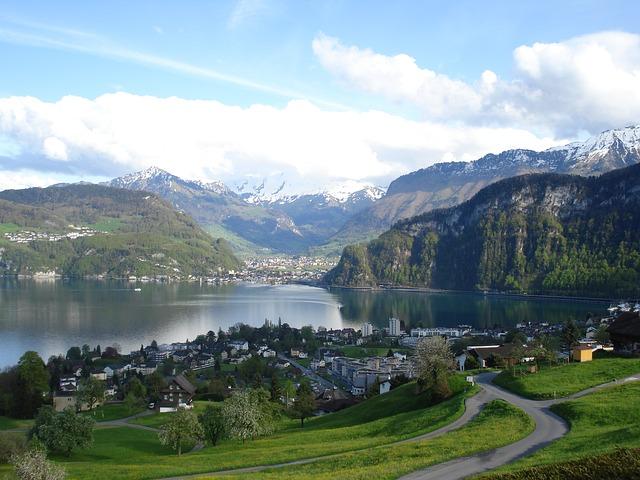 A Swiss landscape