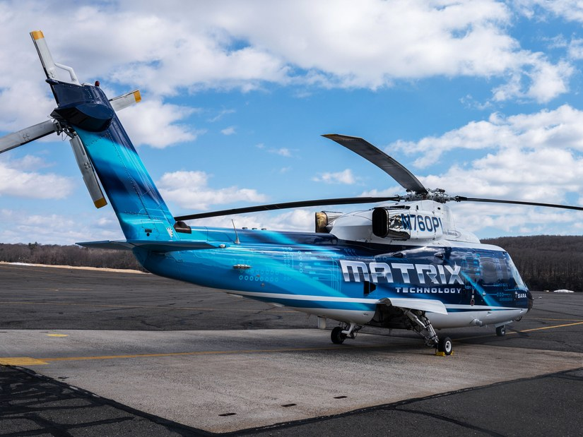 Компания Sikorsky провела демонстрацию беспилотного вертолёта с человеком на борту