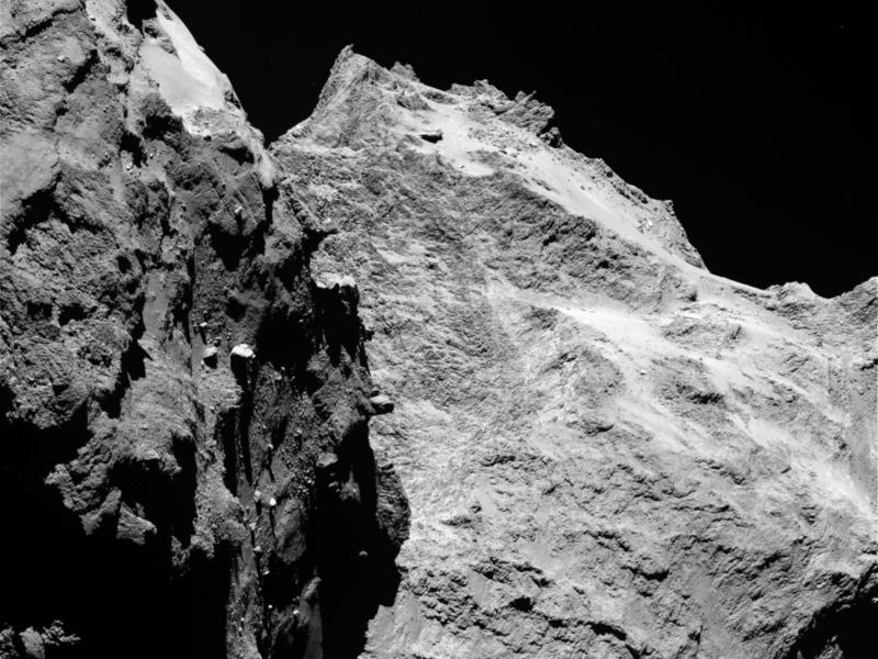 Ученые построили карту кометы Чурюмова-Герасименко на основе изображений высокой четкости