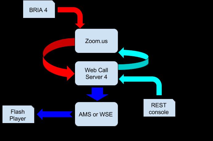 Testing scheme using zoom.us service
