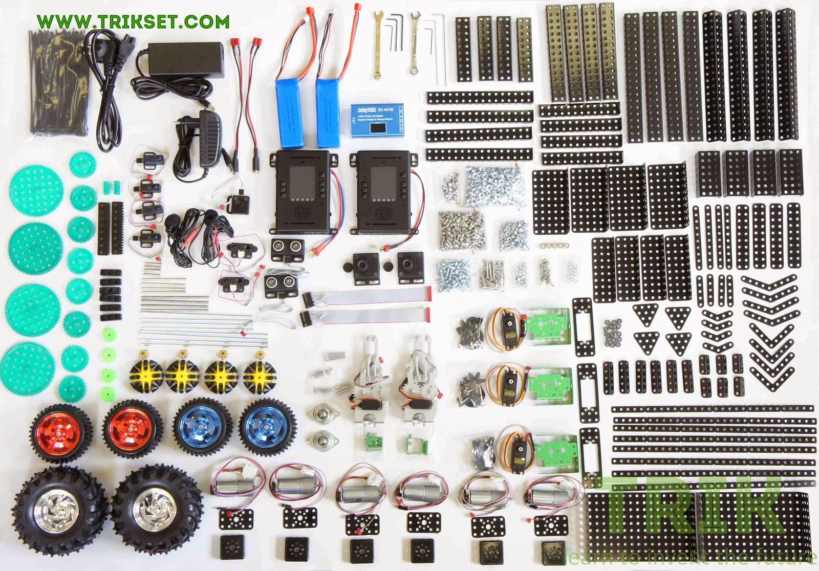 Знакомство с робототехническим конструктором ТРИК: обратный маятник