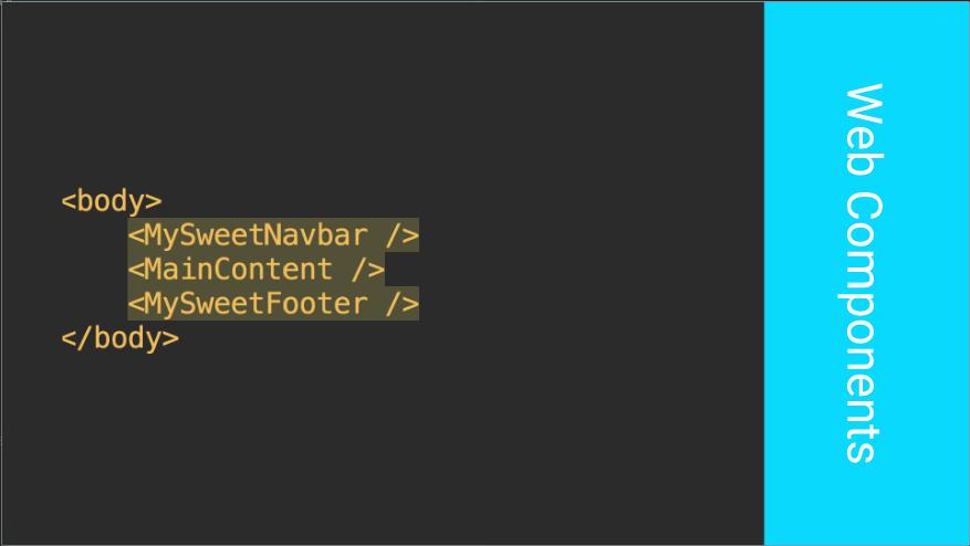 Компонентный подход к формированию веб-страниц