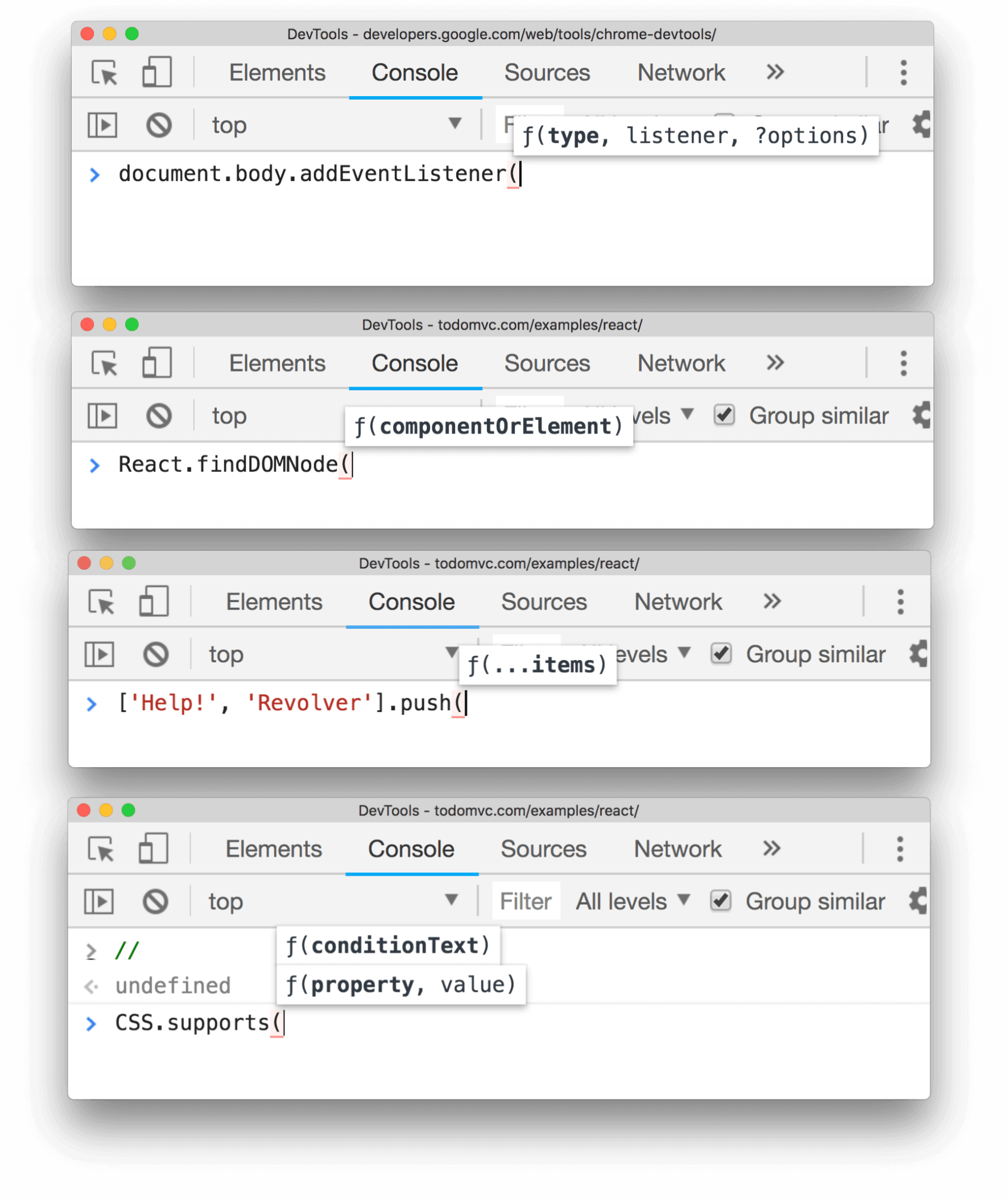 What's new in DevTools in Chrome version 68