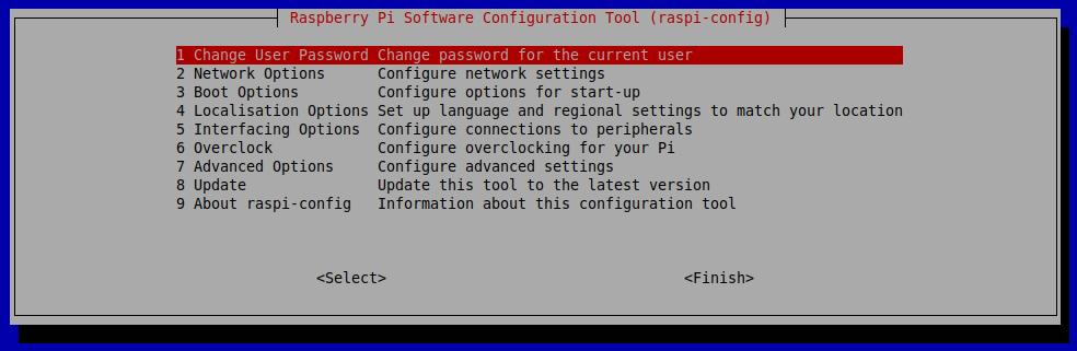 raspi-config wi-fi setup
