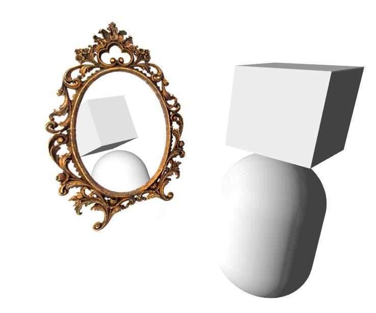 Зеркало из SCNFloor — что может быть проще