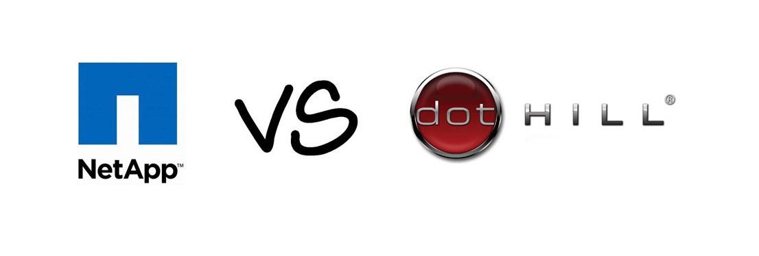 Сравнение скоростных характеристик дисковых массивов фирм DotHill и NetApp