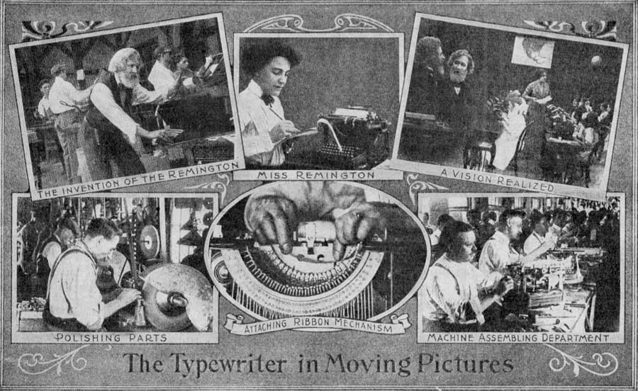«Ремингтон» — первая пишущая машинка