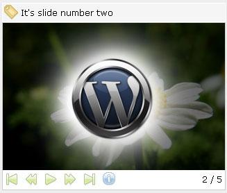 Wordpress (a)Slideshow plugin
