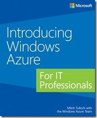 """Бесплатная электронная книга на русском языке """"Знакомство с Windows Azure для ИТ-специалистов"""""""