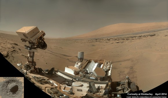 Sol 610: «живая» панорама Марса и Curiosity
