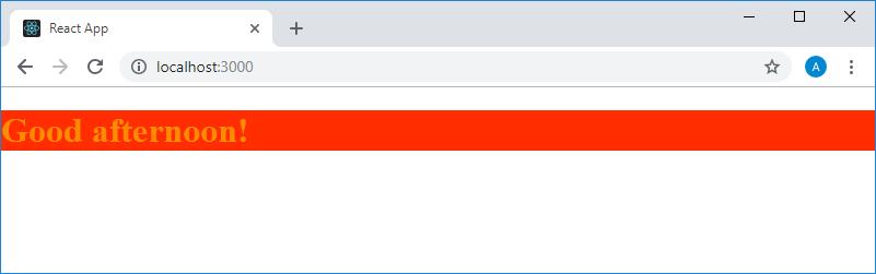 <p>Стилизованный текст, выводимый на страницу компонентом