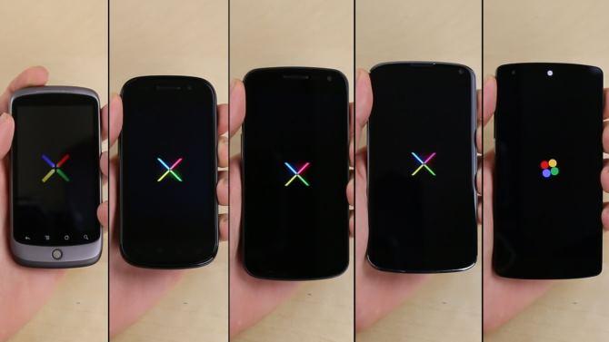 Сравнение производительности всей линейки смартфонов Nexus в одном видео