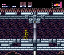 Невидимая рука Super Metroid