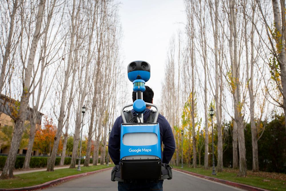 Google показала новое поколение рюкзаков Street View Trekker