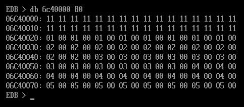 EFI Byte Code и операции с памятью