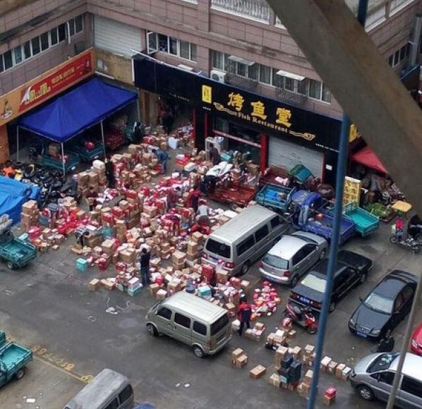 Пекло на Китайській пошті в день розпродажів 11.11.15