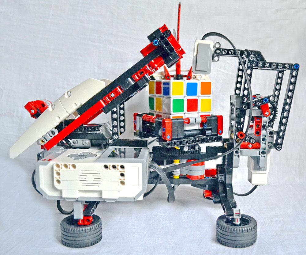 MindCub3r по-русски — делаем робота, который может собрать кубик Рубика (статья обновлена)