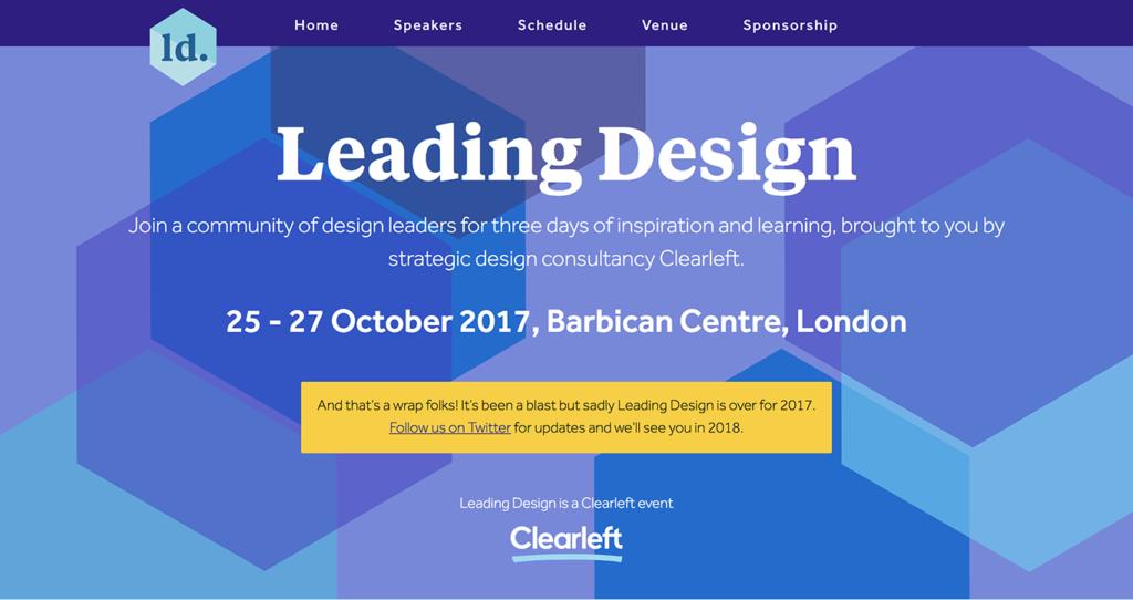 Leading Design 2017