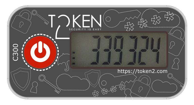 C300 programmable hardware token