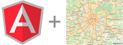 Яндекс карты для angular.js