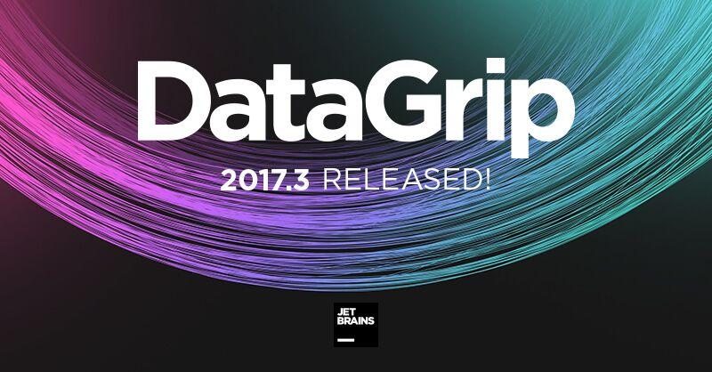 Что нового в DataGrip 2017.3