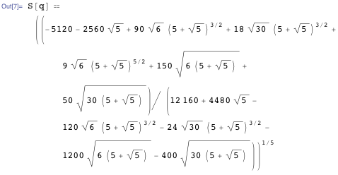Result for S(q)