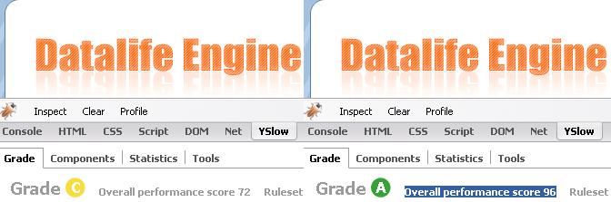 Web Optimizer для DataLife Engine 8.0