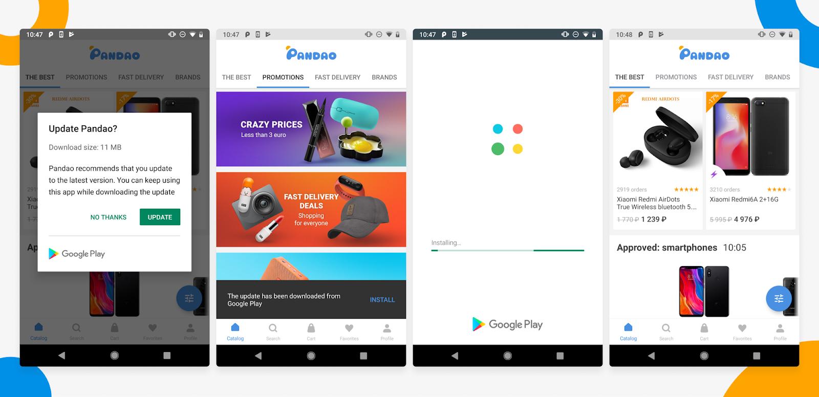 In-App Updates: ускоряем процесс обновления приложения на Android