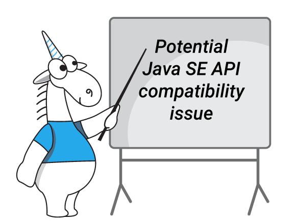 Анализатор PVS-Studio выявления потенциальных проблем совместимости Java SE API
