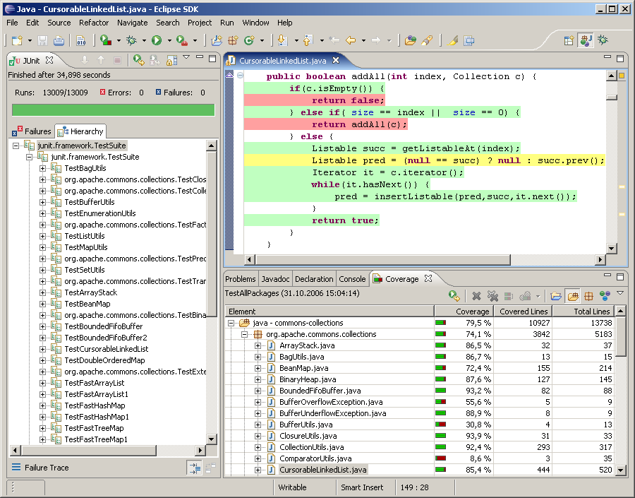 EclEmma — Java Code Coverage for Eclipse