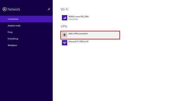 Vpn verbindung windows 10 mobile