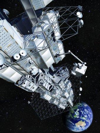 Японская строительная корпорация анонсировали планы по строительству космического лифта до 2050 года
