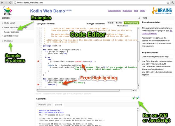 Kotlin web demo