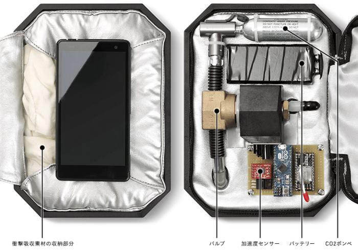 Пятничный пост: чехол с подушками безопасности для телефона