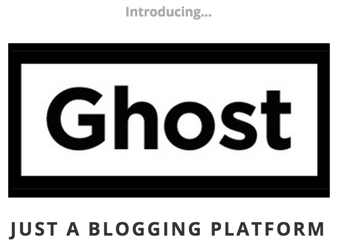 We develop the blog Ghost in InfoboxCloud