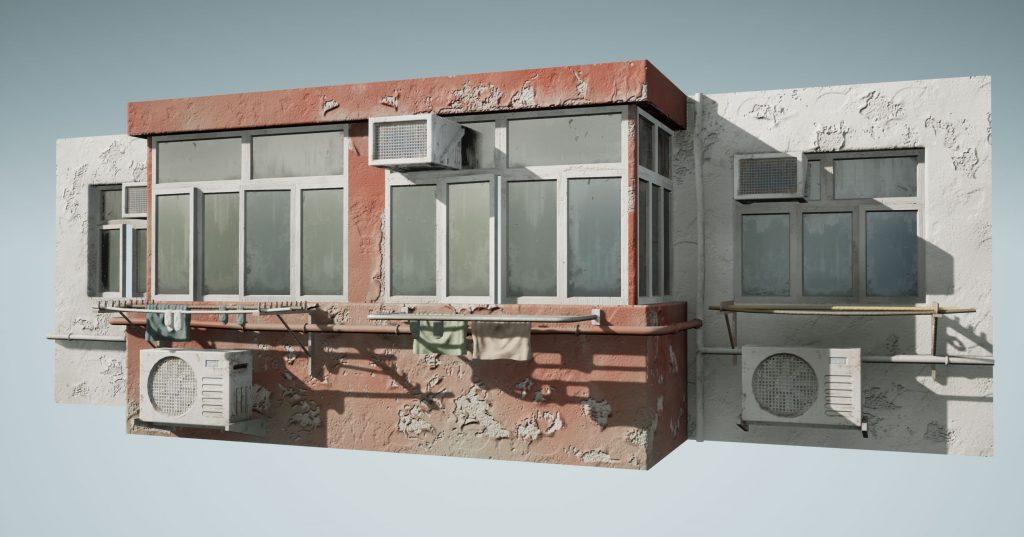 [Перевод] Создание красивых процедурных зданий с помощью Blueprint