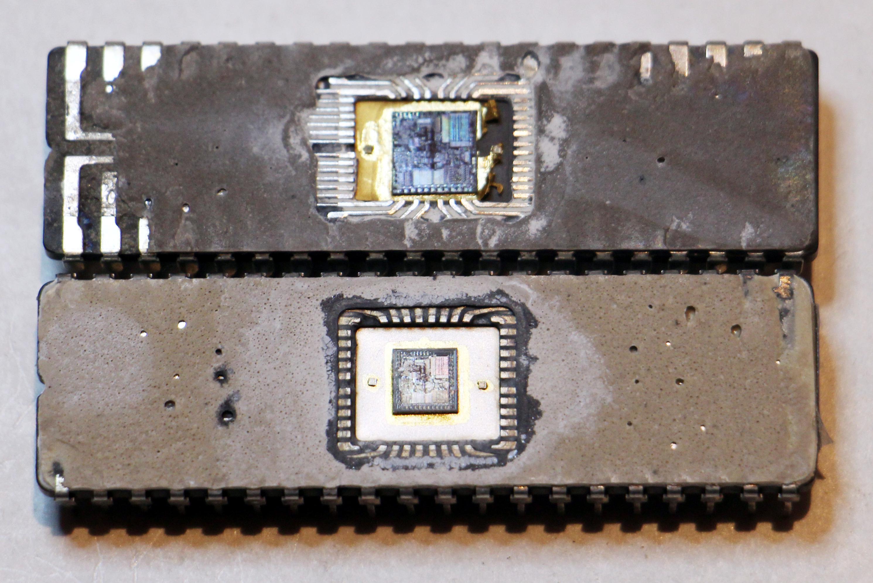 Перевод Масштабирование кристалла как Intel уменьшала масштаб процессора 8086