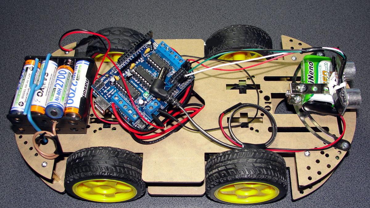 Arduino. RoboCar4W