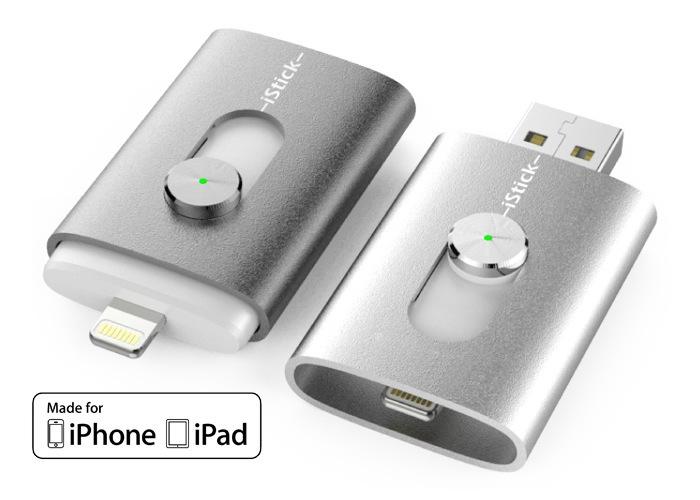 IStick -компактный флеш накопитель для IOS устройств